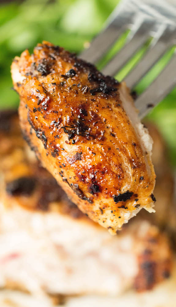 Easy recipe for blackened chicken using just 3 ingredients.