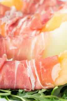 Prosciutto, Melon, and Burrata Salad Recipe