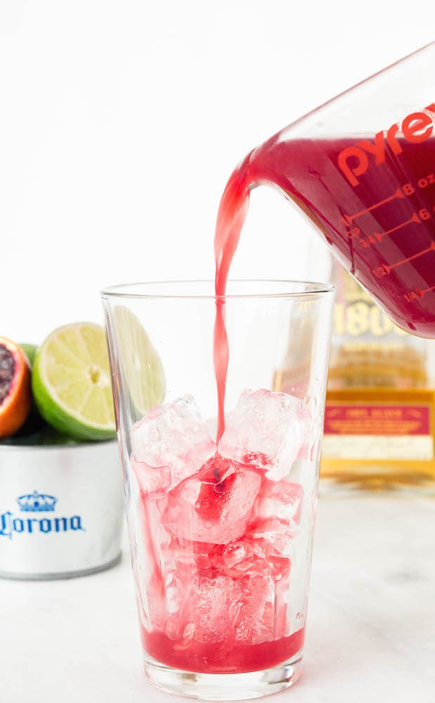 Blood Orange CoronaRita (Beergarita) Recipe