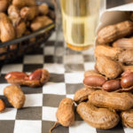 Beer boiled peanuts that can be made in the crock pot. They have a wonderful garlic and onion flavor.