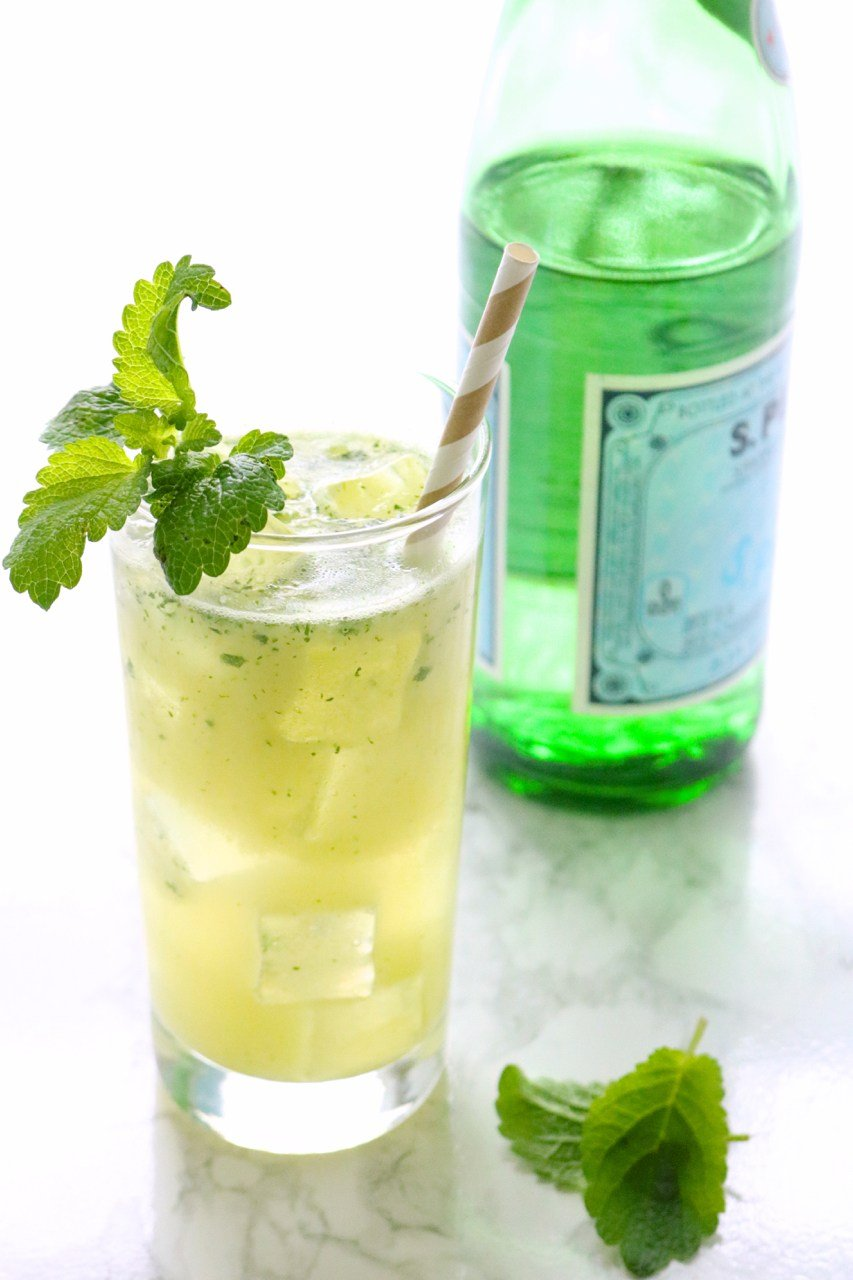 Pineapple Mint Sparkler - 15 Recipes To Survive A Heatwave