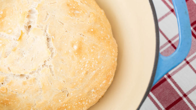 Want to know how to make dutch oven bread? Try our quick and easy recipe with just 4 ingredients.