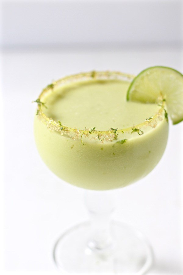 Jalapeno Infused Avocado Cucumber Cocktail - Recipes To Help Survive A Heatwave
