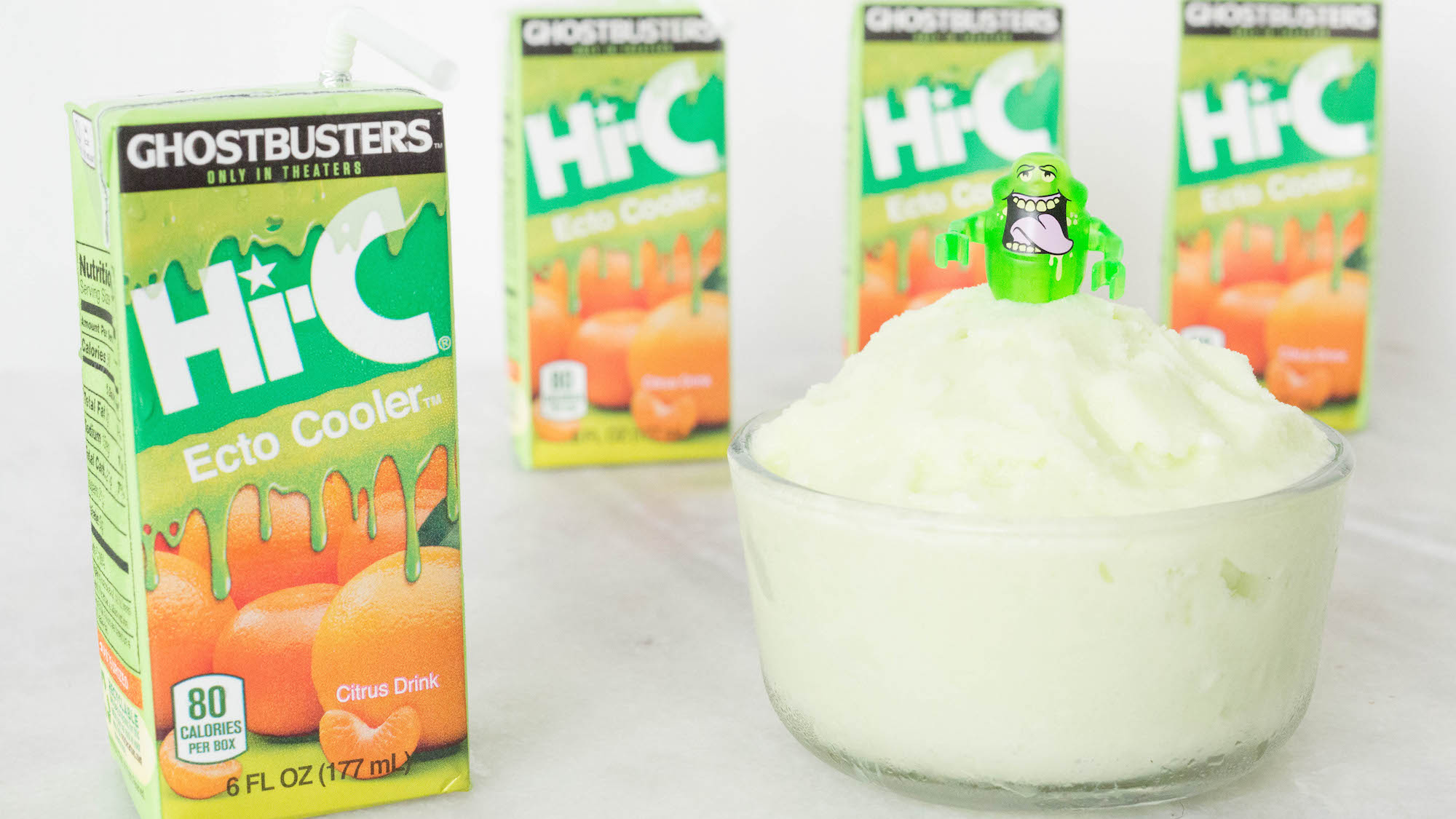 Ecto Cooler Ice Cream Sherbet Recipe