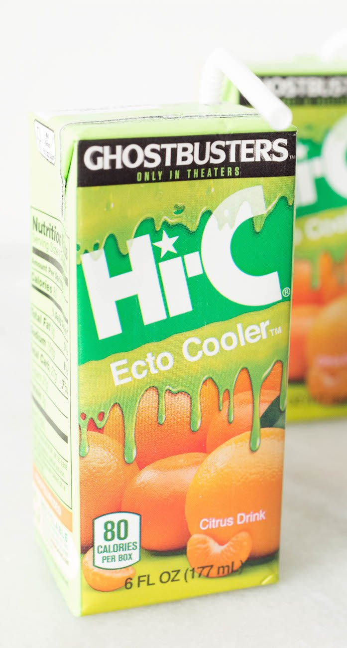 Hi-C Ecto Cooler Juice Boxers for Sherbet Ice Cream