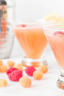 Pink Lemonade Raspberry Cocktail Recipe