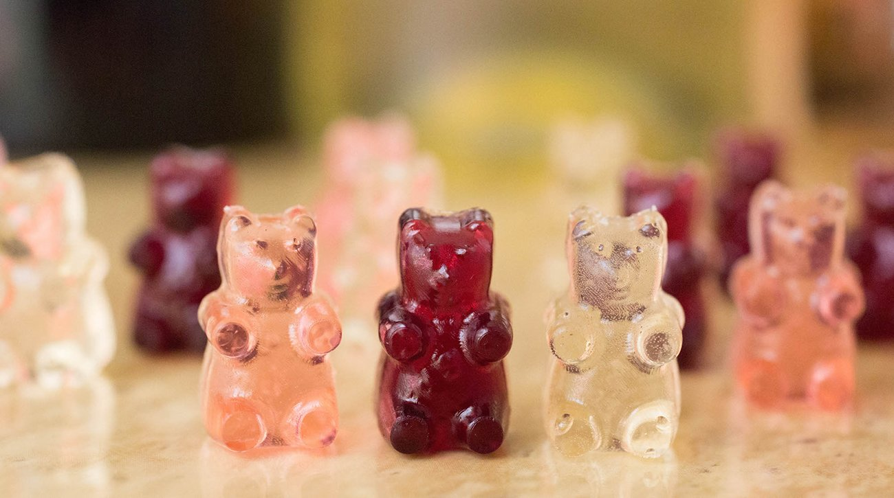 Wine Gummy Bears Recipe Red White Rose Wine Gummy Bears,Types Of Onions For Cooking