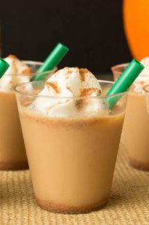 Pumpkin Spice Latte Jello Shots Recipe