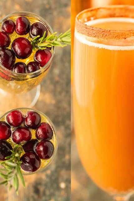 4 Ways To Make Fall Mimosas - Cooking With Janica