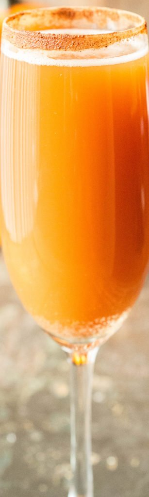 "Pumpkin Ale ""Beermosa"" - Best Fall or Thanksgiving Drink Recipe made with Beer"