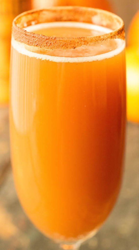 Pumpkin Ale Beermosa Recipe - Fall Mimosas 4 Ways