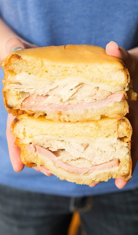 Turn your Thanksgiving leftovers into a Monte Cristo sandwich.