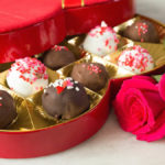 Valentine's Day Ice Cream Gelato Truffles