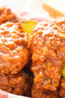 Nashville Hot Chicken Wings Recipe