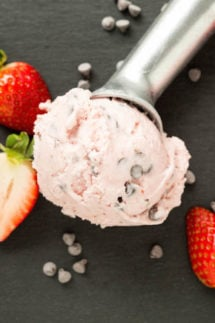 Strawberry Chocolate Chip Gelato Recipe