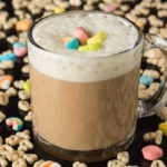Lucky Charms Cereal Milk Latte