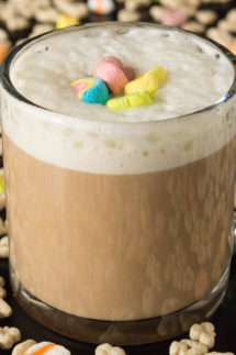 Lucky Charms Cereal Milk Latte Recipe