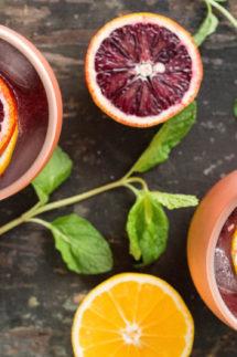 Blood Orange & Meyer Lemon Moscow Mule Recipe