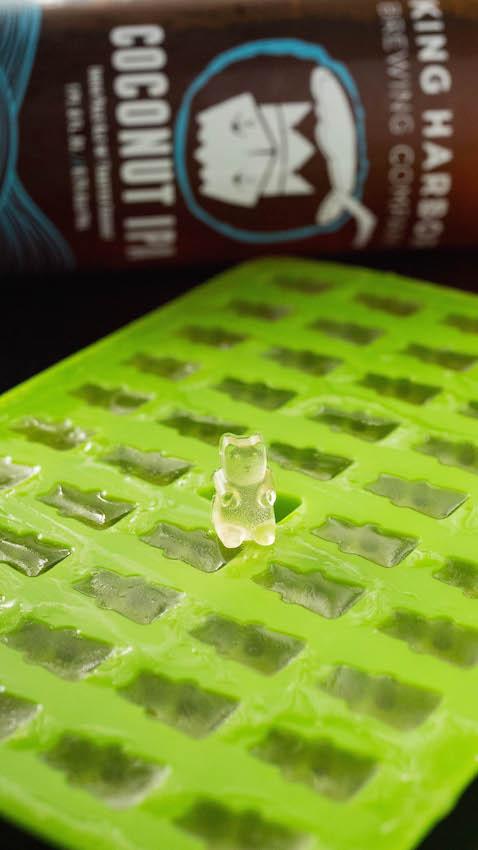Gummy bear mold for beer gummy bears recipe