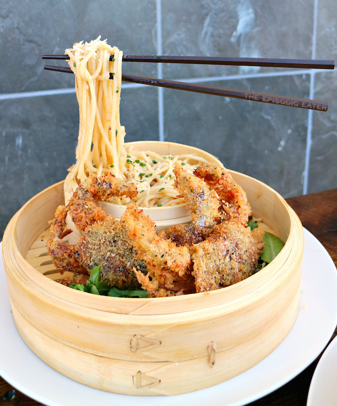 Floating Noodles at Neptune's Raw Bar