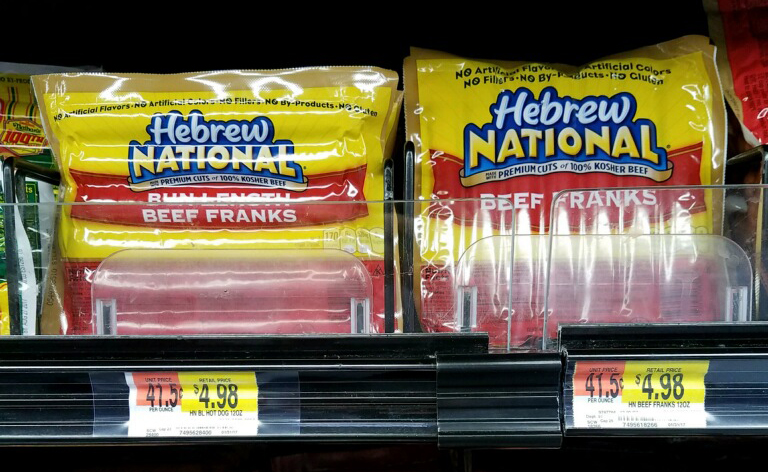 Cost Of Hebrew National Hot Dogs