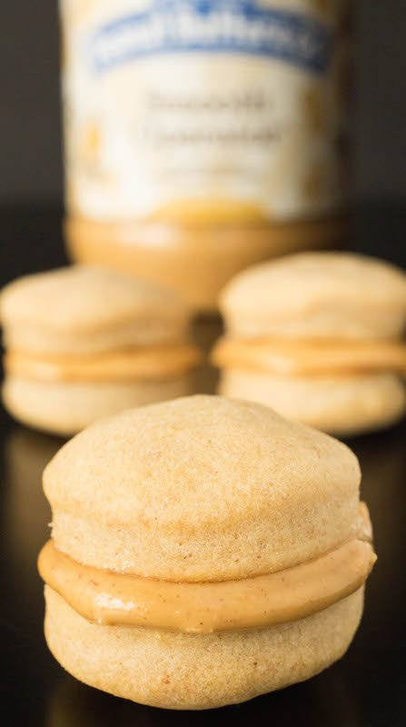 Dog Treat Recipes - Peanut Butter Macarons for dogs