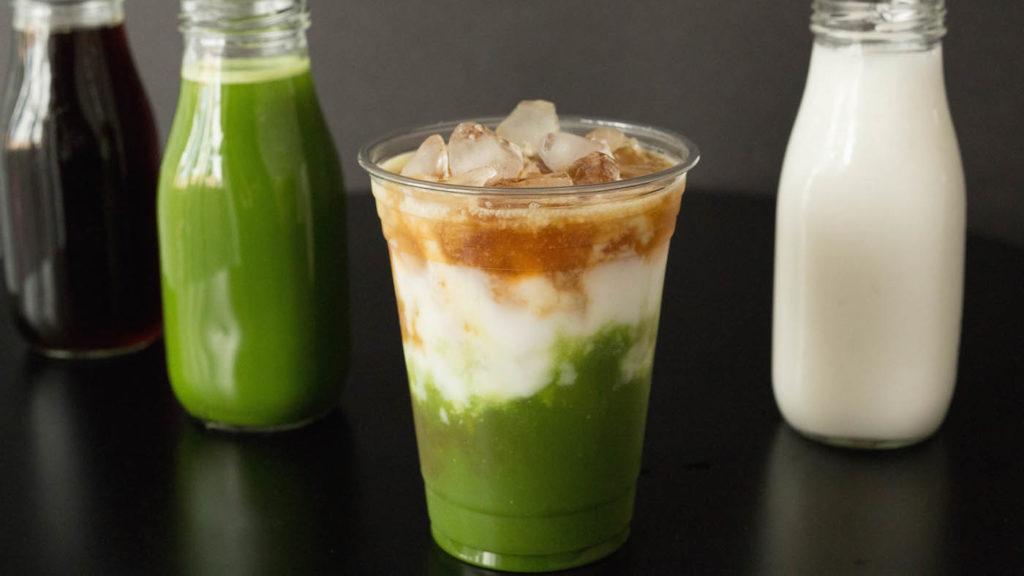 Starbucks Copycat Matcha Espresso Fusion
