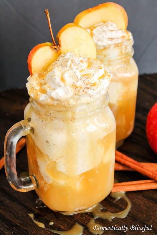 Apple Cider Floats - Fall Dessert Recipes