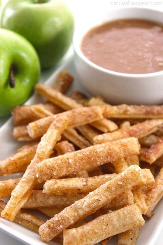 Apple Pie Fries - Fall Dessert Recieps