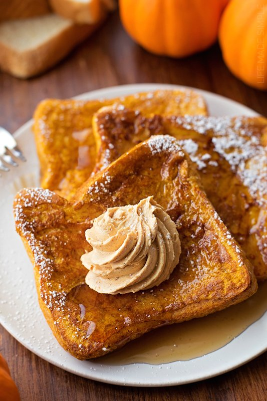 Pumpkin French Toast Recipe - Best Fall Breakfast Recipes