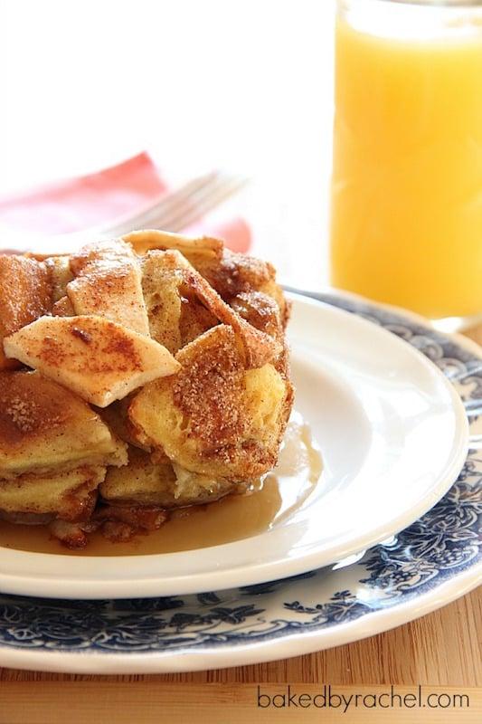 Apple Pie French Toast - Best Fall Breakfast Recipes