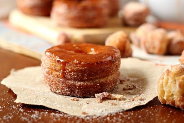 Pumpkin Spice Cronuts - Fall Breakfast Recipes