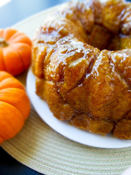 Pumpkin Spice Monkey Bread - Fall Dessert Recipes