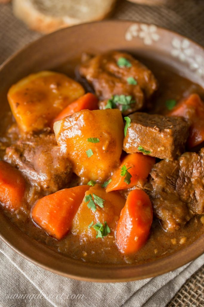 Guinness Beef Stew - Fall Dinner Recipes