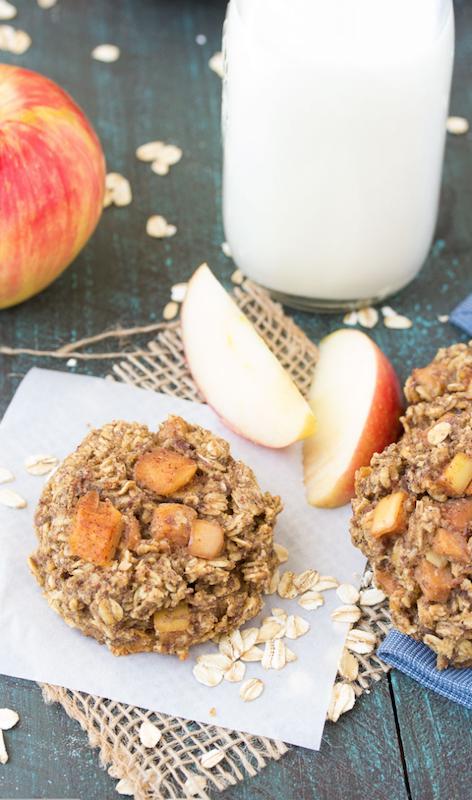 Apple Pie Breakfast Cookies Recipe - 100+ Fall Recipes