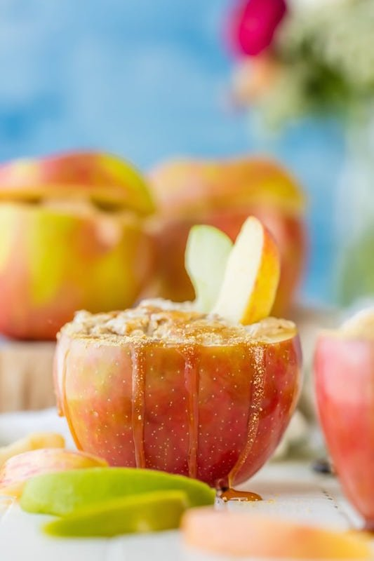 Caramel Apple Cheesecake Dip - Fall Desserts