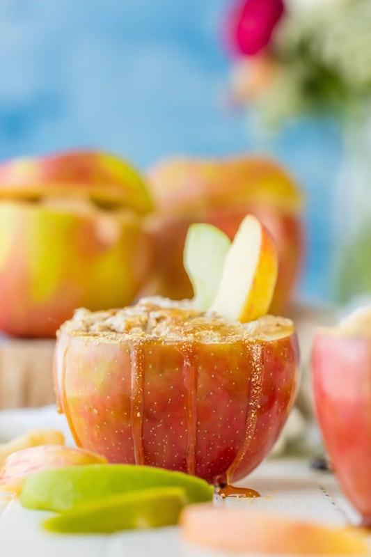 Caramel Apple Cheesecake Dip - Fall Desserts