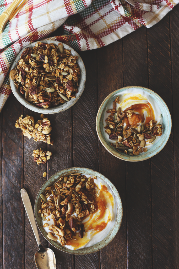 The Ultimate Pumpkin Spice Granola - Fall Breakfast Recipes