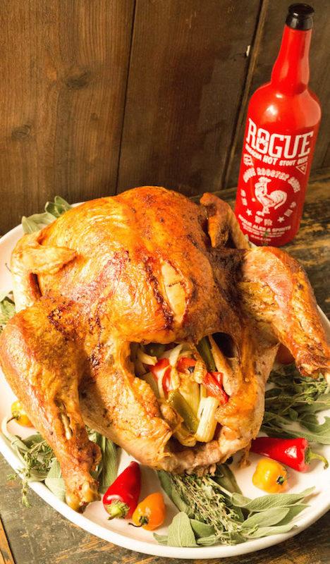 Sriracha Beer Injected Cajun Turkey - Fall Dinner Recipes