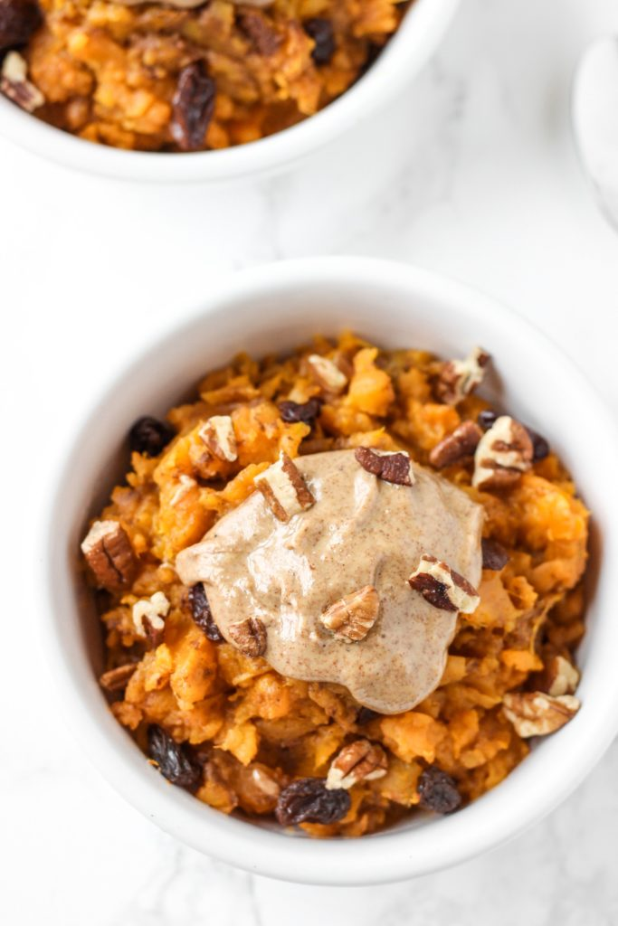 Sweet Potato Breakfast Bowl - Healthy Fall Breakfast Recipes