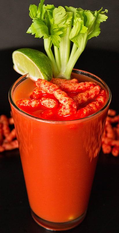 Flamin' Hot Cheetos Bloody Mary - Flamin' Hot Cheetos Recipes