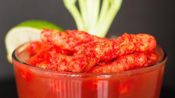Flamin' Hot Cheetos Bloddy Mary Recipe