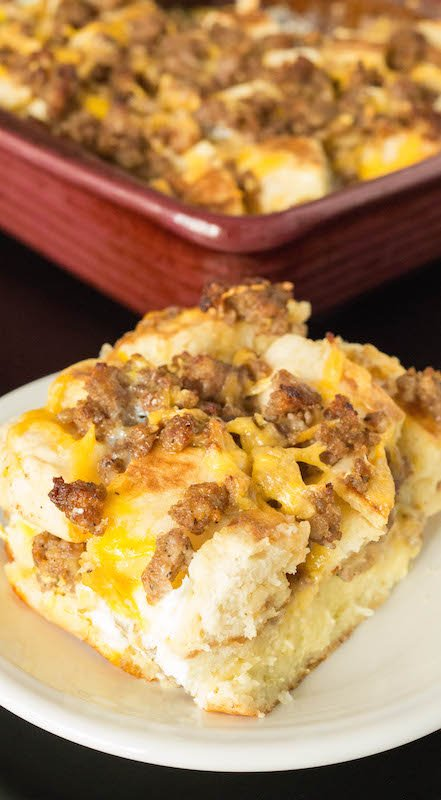 Sausage Egg McMuffin Casserole - Breakfast Recipes