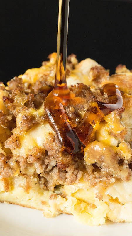 Sausage McMuffin Casserole - Breakfast Casseroles