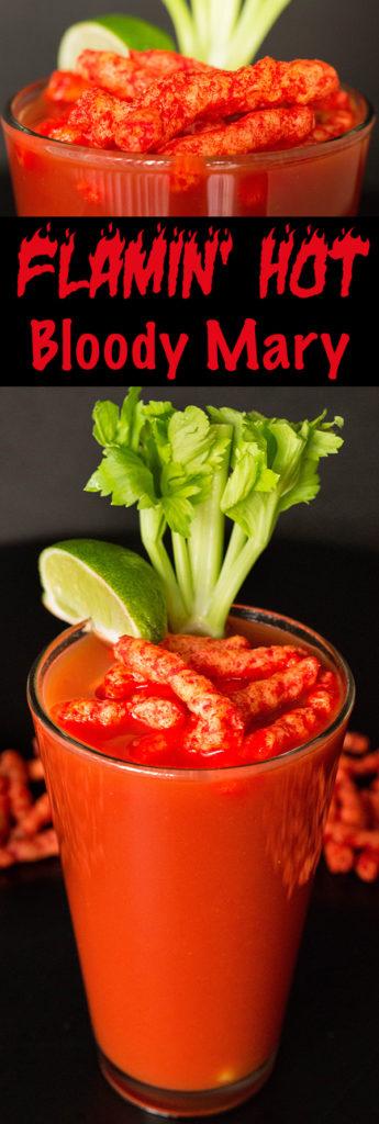 Flamin' Hot Cheetos Bloody Mary Recipe (with Flamin' Hot Cheetos Vodka)