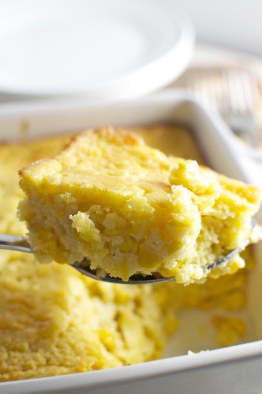 Corn Casserole - Make Ahead Thanksgiving Side Dish Recipes