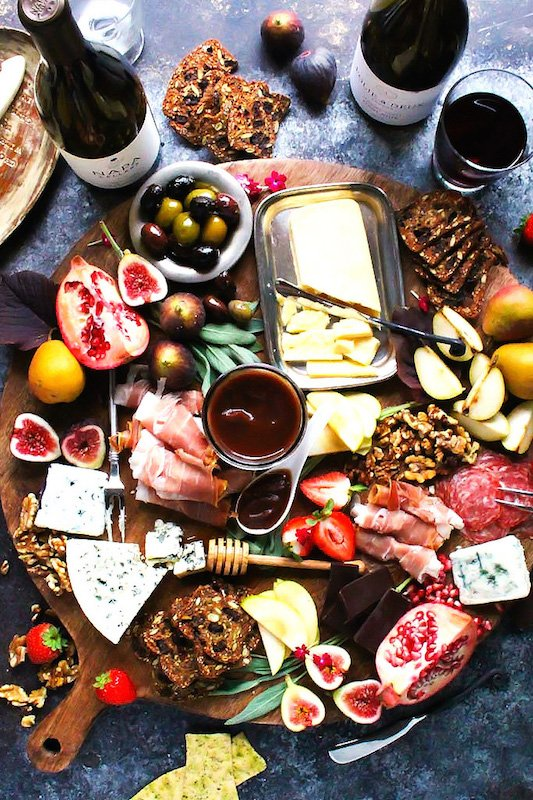 Thanksgiving Harvest Cheeseboard - Make Ahead Thanksgiving Appetizers