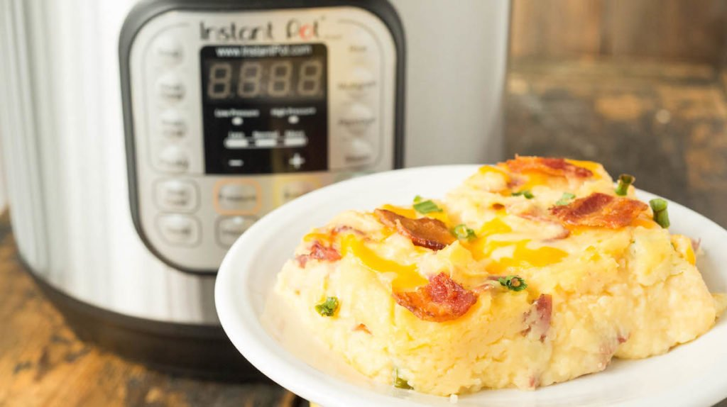 Instant Pot Twice Baked Potato Casserole Recipe