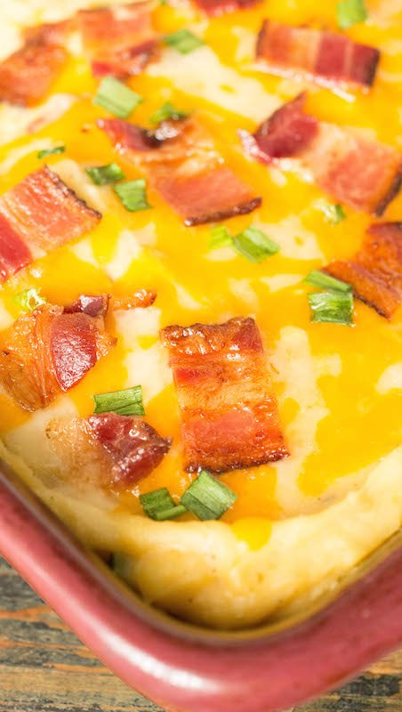 Instant Pot Twice Baked Potato Casserole Recipe - Instant Pot Recipes