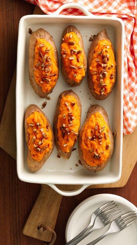 Make Ahead Sweet Potatoes - Make Ahead Thanksgiving Recipes